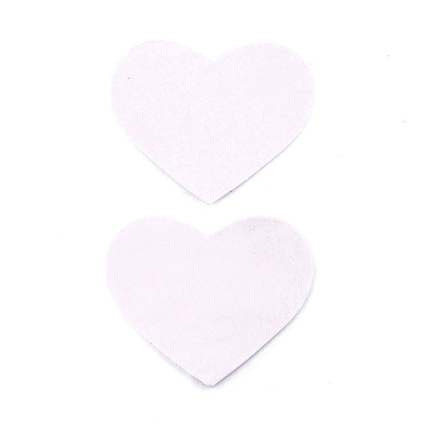 Light Pink Heart Shape Satin Nipple Pasties and Tassels – Appeeling