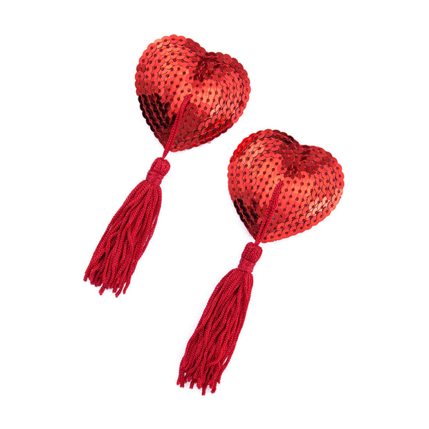 Red Lolita la Chance Nipple Pasties and Tassels – Appeeling
