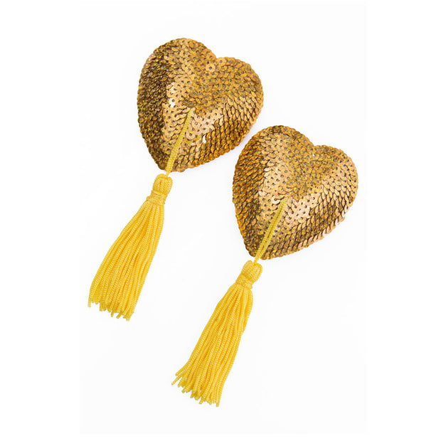 Gold Lolita la Chance Nipple Pasties and Tassels – Appeeling