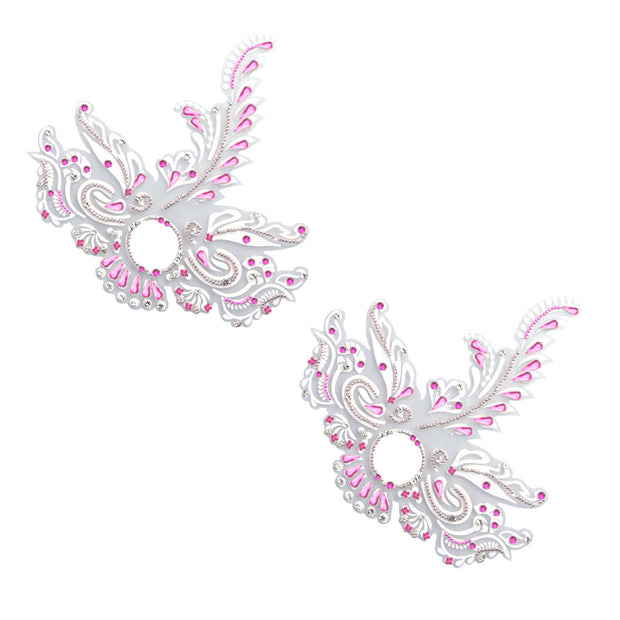 Feather Me Fabulous Pink Pasties – Appeeling