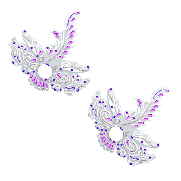 Feather Me Fabulous Purple Pasties – Appeeling