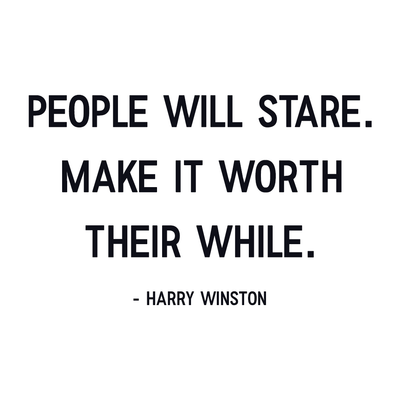 Harry Winston Quote – Appeeling