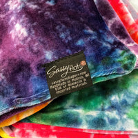 Sassy hand dyed velour BLANKETS