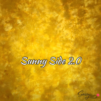 """Sunny Side 2.0"" hand dyed stretchy Sassy Flats reusable flat cloth diapers"