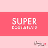 SUPER double layer stretchy Sassy Flats reusable flat cloth diaper
