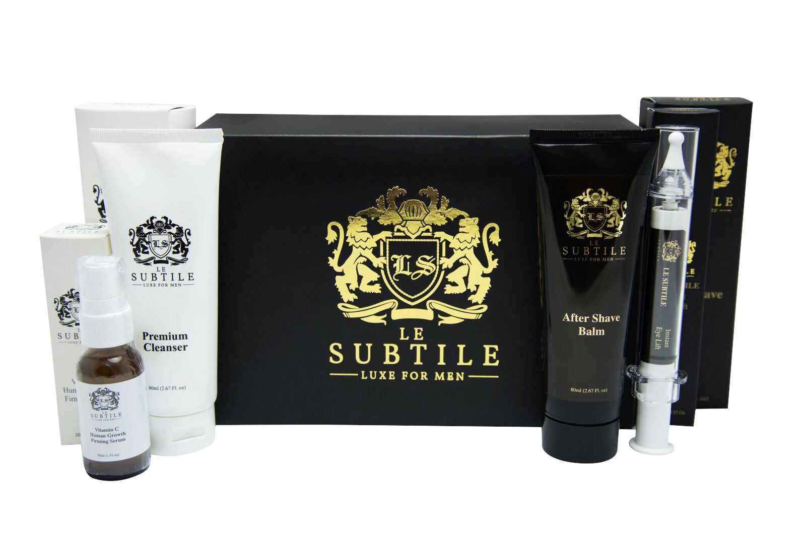 LE SUBTILE Collection Luxury Box - 4 Full Size Products