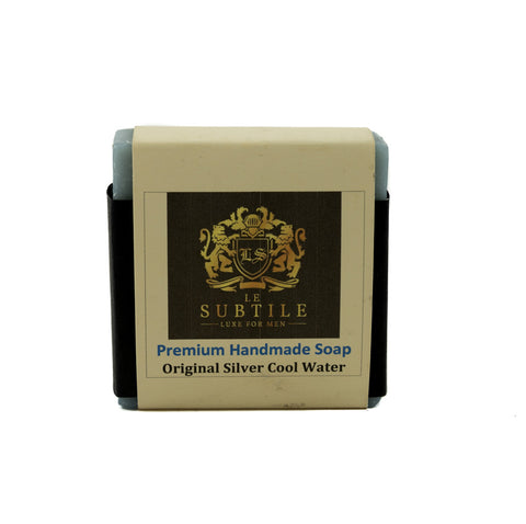 LE SUBTILE  luxe for men Premium Handmade Soap Original Cool Water
