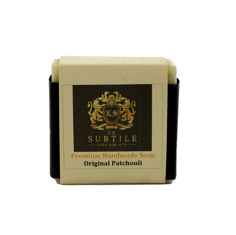 LE SUBTILE  luxe for men Premium Handmade Soap Original Patchuli