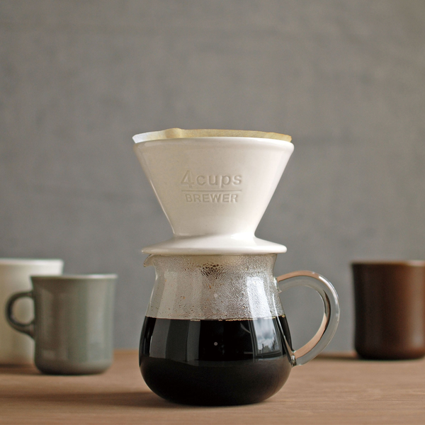 SCS BREWER 2/4CUPS WHITE - COYARD Coffee Roasters