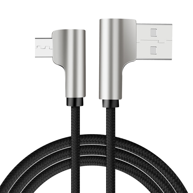 L-Shape Micro USB (type C) Cable to USB External Power Source