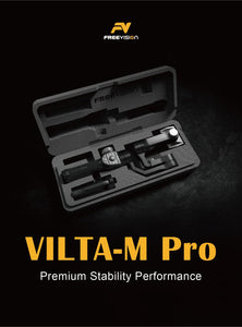 Freevision VILTA- M Pro  Most Competitive,  Impeccable Design, Complete Filming Experience