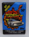 Pack of 'Back to the future 2' stickers - unopened