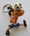 '90s World Cup Mascot Keyring - Striker