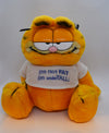 fat garfield toy