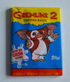 Pack of Gremlins 2 cards - unopened