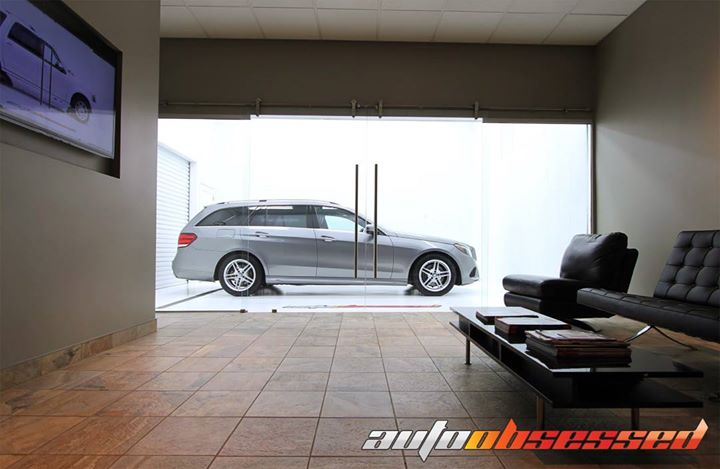 #wagonwednesday Mercedes-Benz E400 detailed and waiting for its owner in our Edmonton Clean Room.