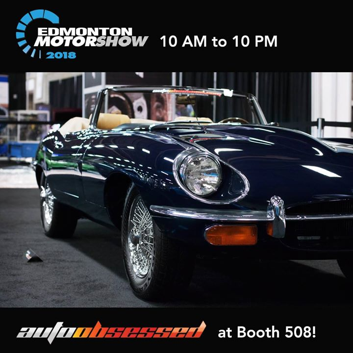Come into the Edmonton Motorshow this afternoon. We have brought a huge exhibit – Booth 508!