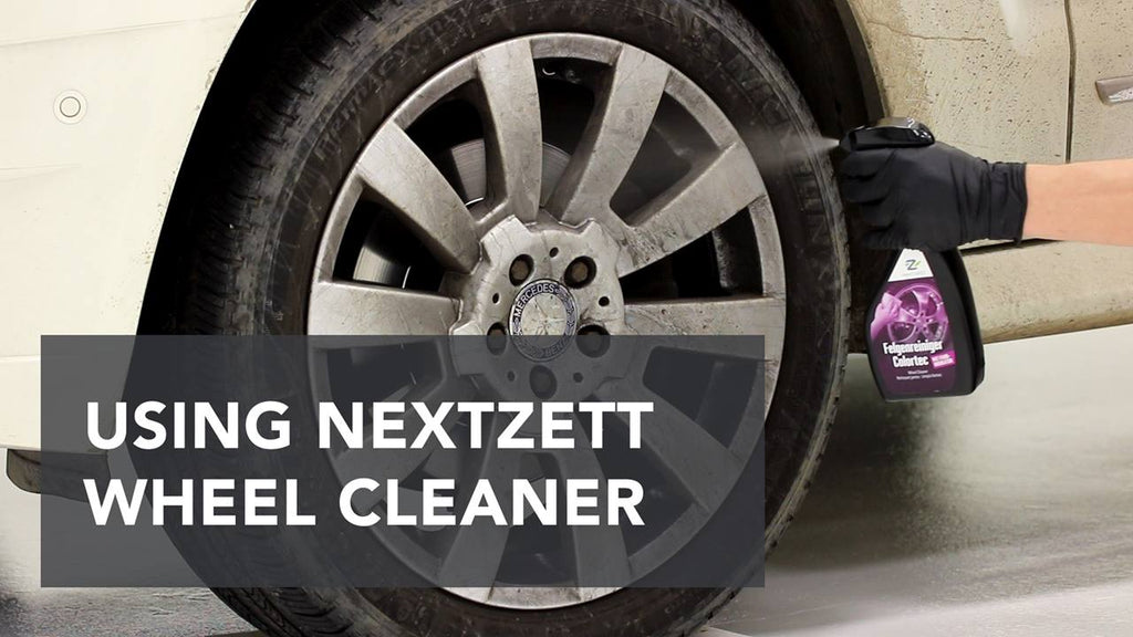 We've done a video to show how Nextzett ColorTec Wheel Cleaner works.  You can get a bottle of Nextzett Wheel Cleaner here: https://www.autoobsessed.c