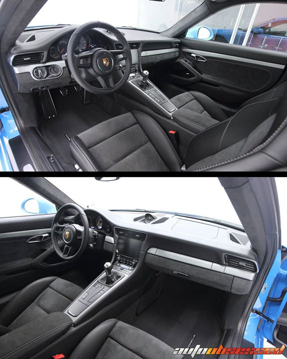 We're in love with the current generation Porsche interiors. Materials, stitching, finish, fitment, seat and controls design – very well done and exhi
