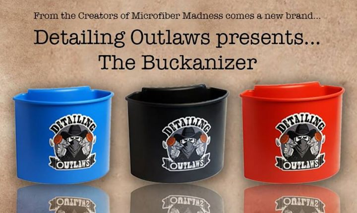 NOW IN STOCK!  Check out the latest must have addition for the enthusiast, weekend warrior or professional detailer.  Buckanizer the bucket organizer