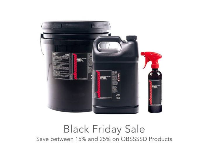 A lot of OBSSSSD Products on sale this week for Black Friday. Save between 15% and 25%.   Great prices, but only for a limited time. Stock up now! htt