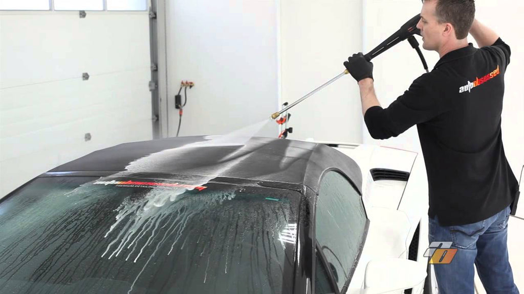 Tutorial: how to clean and protect your car's fabric convertible top by Auto Obsessed.