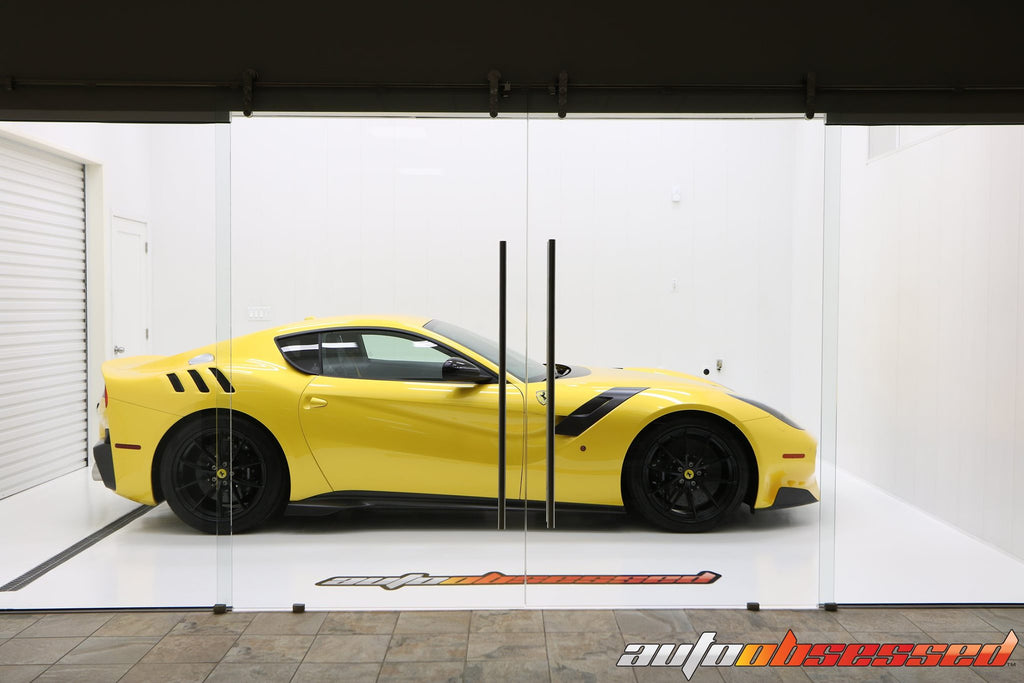 Auto Obsessed performed a Show Preparation detail to this 2016 Ferrari F12 TDF.