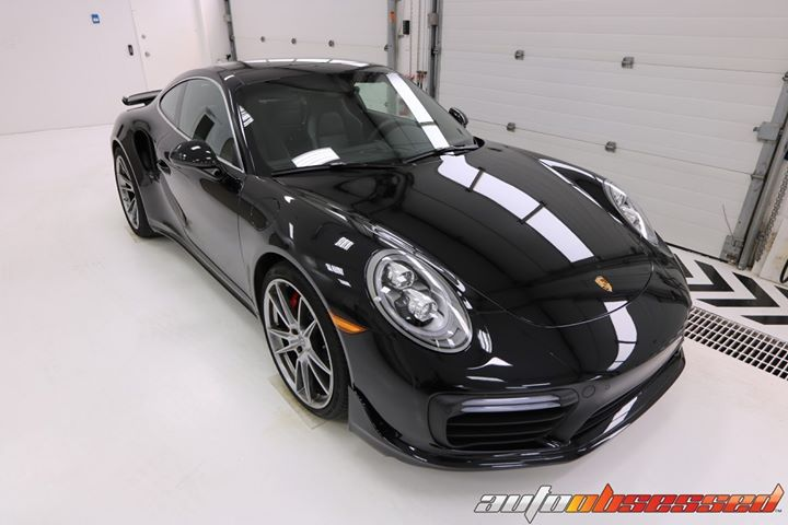 Auto Obsessed performed a New Vehicle Detail to this 2019 Porsche 911 Turbo .