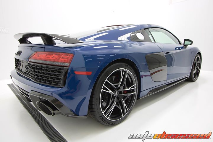 Another view of this Audi R8 looking spectacular in the Auto Obsessed Cleanroom!