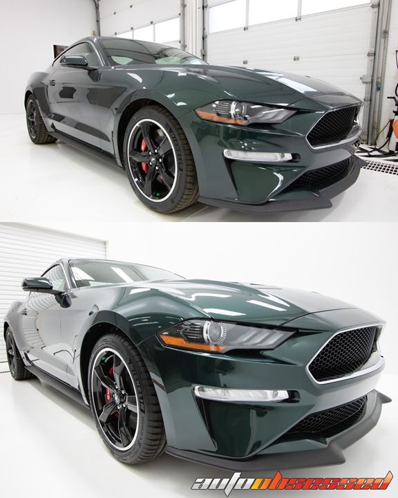 2018 Ford Mustang Bullitt New Vehicle Prep