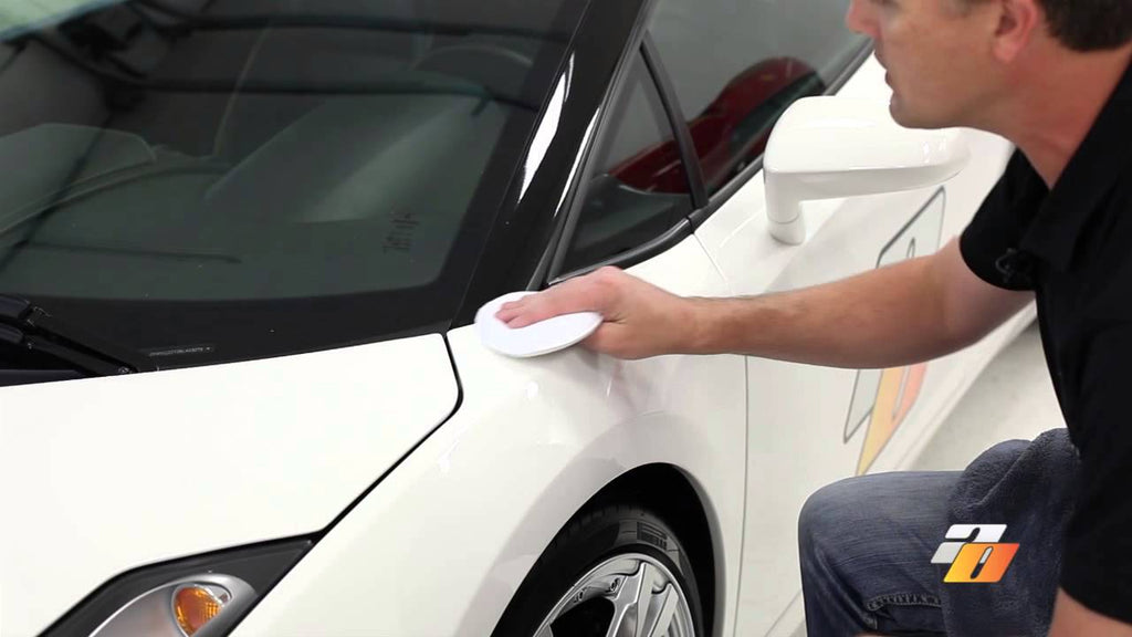 Car detailing: How to do paint preparation polish with Swissvax Cleaner Fluid