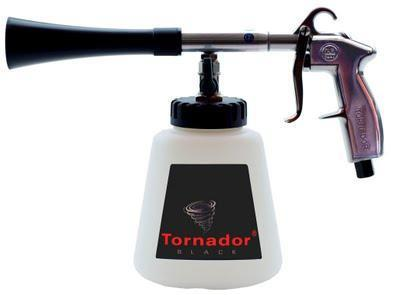 BACK IN STOCK:  The Tornador Black Cleaning Gun  For professional car detailing companies the new Tornador BLACK is a must-have!   The Tornador Black