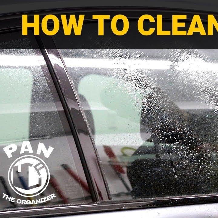 What's the best way to clean automotive glass? Watch Pan The Organizer's review of OBSSSD Glass Cleaner to see his glass-cleaning technique: https://y