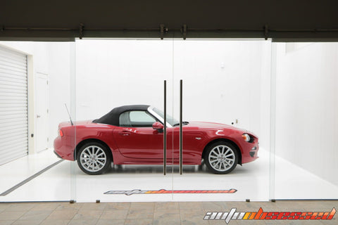 2017 Fiat 124 Spider in the Auto Obsessed Clean Room