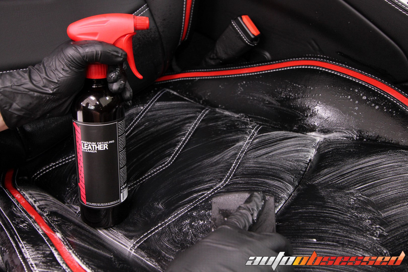 LEATHER CLEANING LEATHER CONDITIONER AND PROTECTION - Auto Obsessed Car Detailing