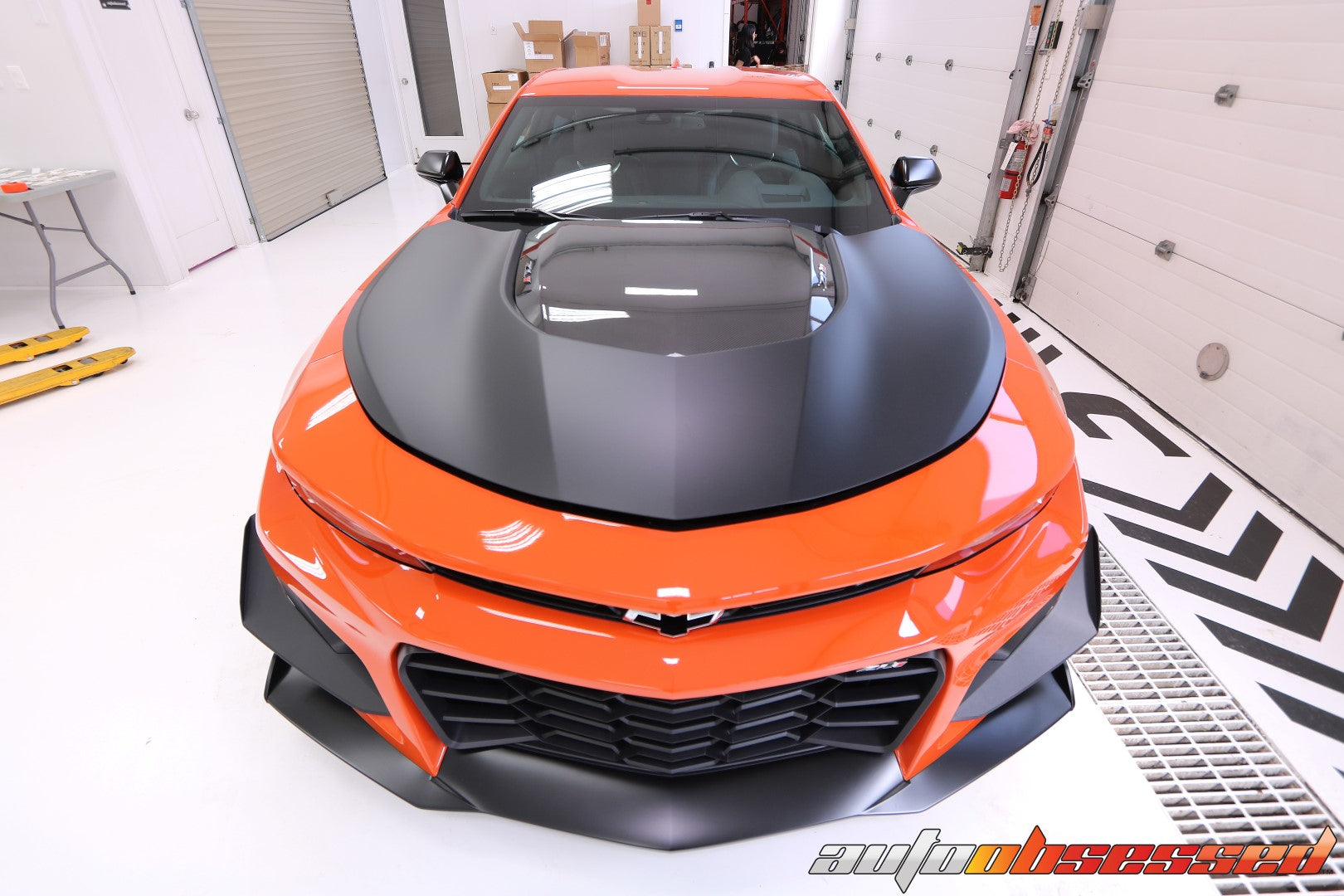 2020 Camaro ZL1 1ZE Track Edition New Vehicle Car Detailing