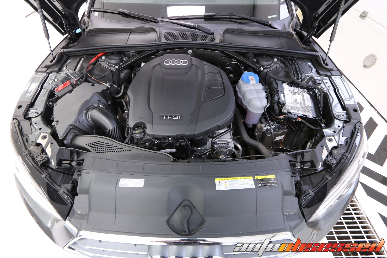 2020 Audi S5 Engine Bay - Auto Obsessed