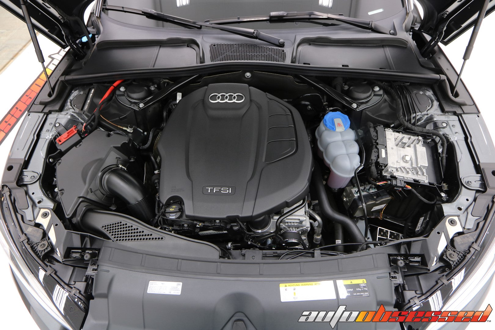 2020 Audi S5 Engine Bay Detailing - Auto Obsessed