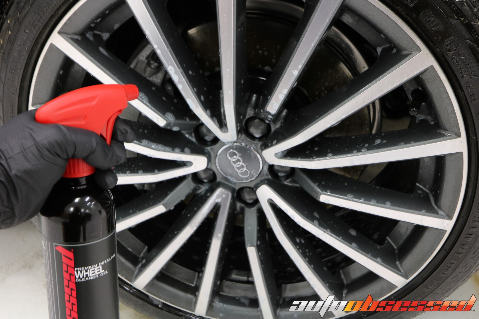 2020 Audi S5 Wheel Detailing Wheel Cleaner - Auto Obsessed