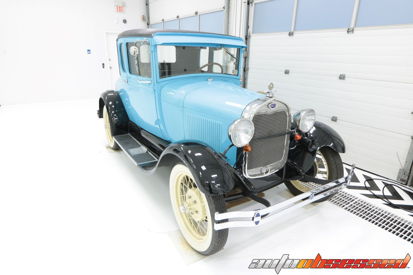 1928 Ford Model A Car Detailing - Auto Obsessed