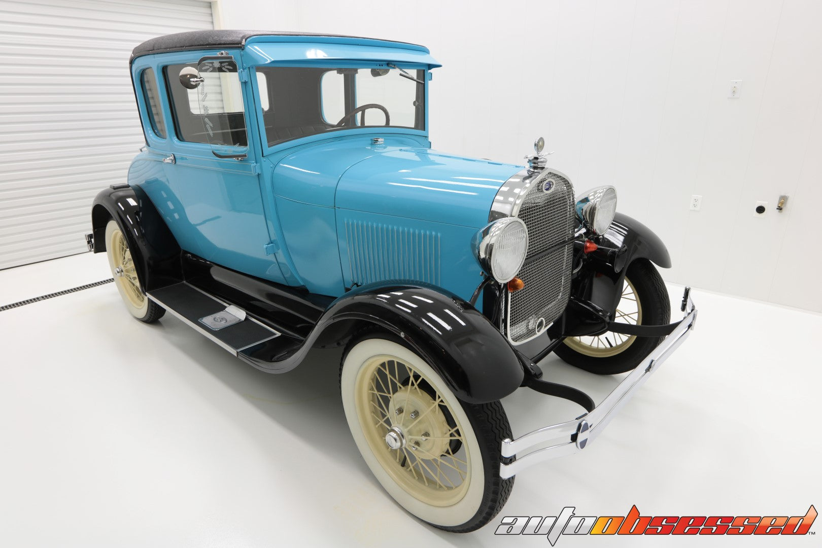 1928 Ford Model A Clean Room Car Detailing Complete - Auto Obsessed
