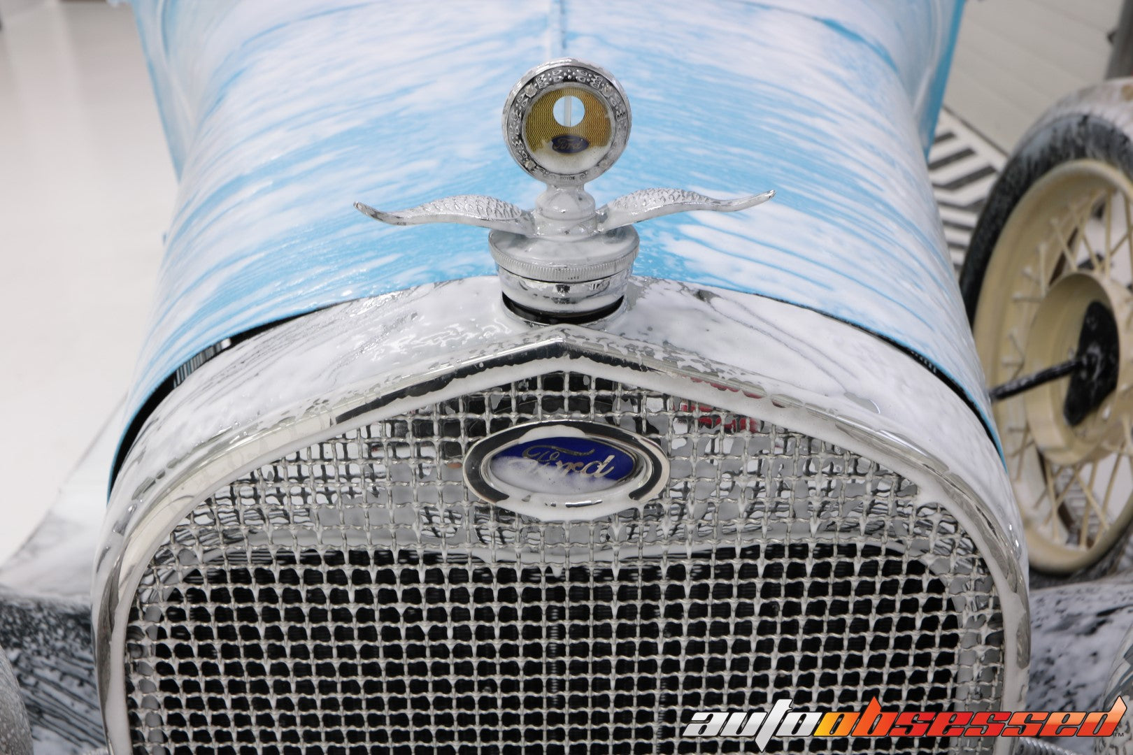 1928 Ford Model A Decontamination Car Wash - Auto Obsessed