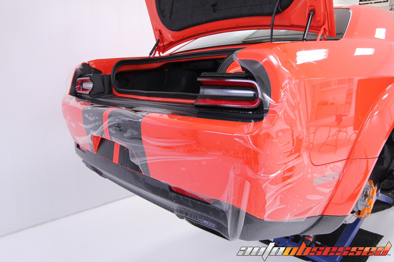 2018 Dodge Challenger Hellcat Paint Protection Film PPF Installation - Auto Obsessed