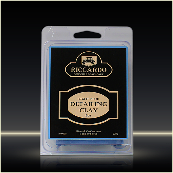 Riccardo Light Blue Detailing Clay Bar 8oz - Auto Obsessed