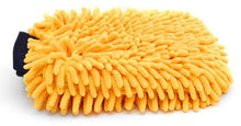 Load image into Gallery viewer, Microfiber Chenille Gold Wash Mitt - Auto Obsessed