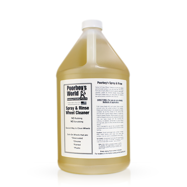 Poorboys World Spray Rinse 1 Gallon - Auto Obsessed