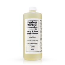 Load image into Gallery viewer, Poorboys World Spray and Rinse Wheel Cleaner - Auto Obsessed