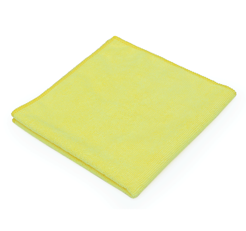 "Microfiber The Rag Company All-Purpose Terry Yellow 16"" x 16"""