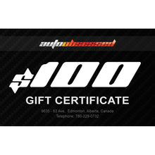 Load image into Gallery viewer, Gift Certificate $100 - Auto Obsessed
