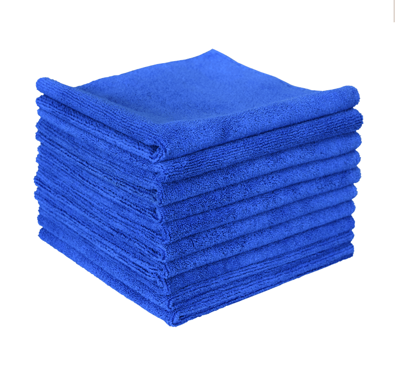 "The Rag Company Edgeless 365 Premium 16"" x 16"" Microfiber 70/30 Terry Detailing Towel -10 Pack - Auto Obsessed"